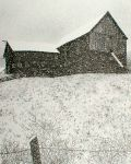 Vermont Barn Pen & Ink Print
